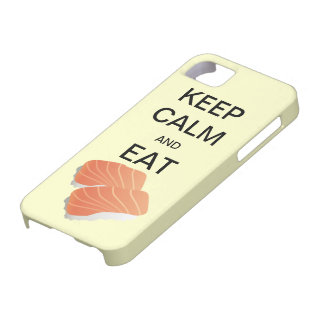 KEEP CALM AND EAT SUSHI CaseMate iPhone 5 Case