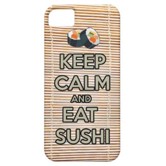 keep calm and eat sushi iPhone SE/5/5s case