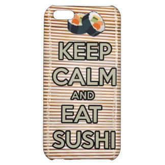 keep calm and eat sushi japanese iphone case eatin