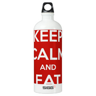 Keep Calm and Eat Sushi Water Bottle