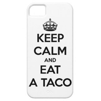 keep calm and eat taco funny tacos bell fast food iPhone SE/5/5s case