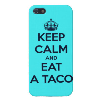 keep calm and eat taco funny tacos bell fast food iPhone SE/5/5s cover