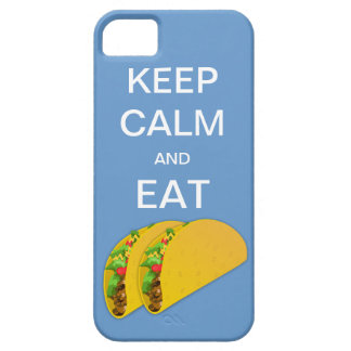 Keep Calm and Eat Tacos iPhone 5 Case
