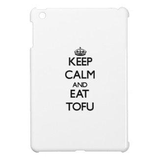 Keep calm and eat Tofu Cover For The iPad Mini