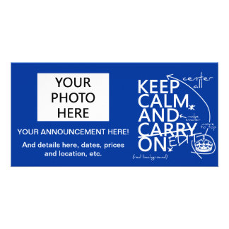 Keep Calm and Edit On (in any color) Card