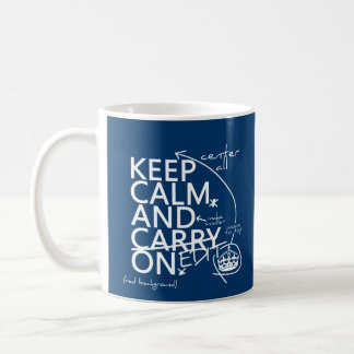 Keep Calm and Edit On (in any color) Coffee Mug