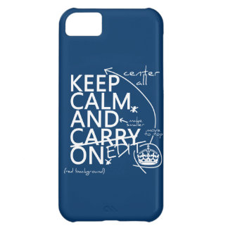Keep Calm and Edit On (in any color) Cover For iPhone 5C