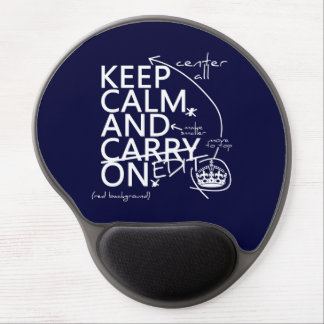 Keep Calm and Edit On (in any color) Gel Mouse Mats