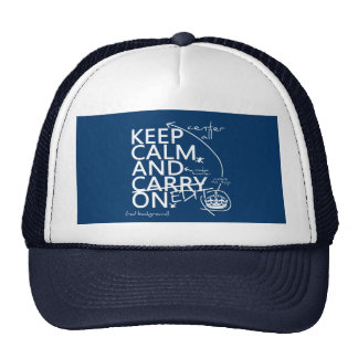 Keep Calm and Edit On (in any color) Trucker Hat