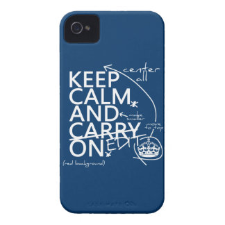 Keep Calm and Edit On (in any color) iPhone 4 Cover