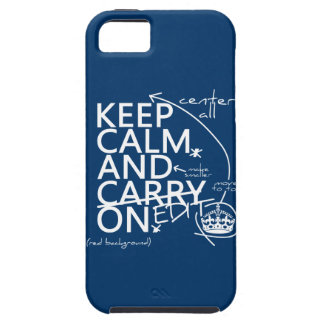 Keep Calm and Edit On (in any color) iPhone SE/5/5s Case
