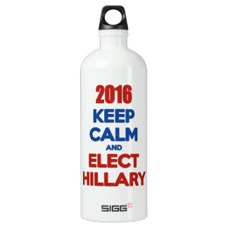 Keep Calm And Elect Hillary 2016 SIGG Traveler 1.0L Water Bottle