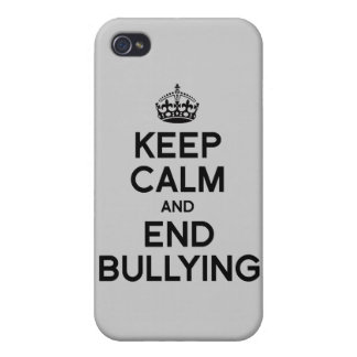 KEEP CALM AND END BULLYING CASE FOR iPhone 4