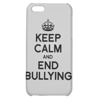 KEEP CALM AND END BULLYING iPhone 5C CASE