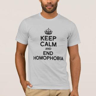 KEEP CALM AND END HOMOPHOBIA T-Shirt