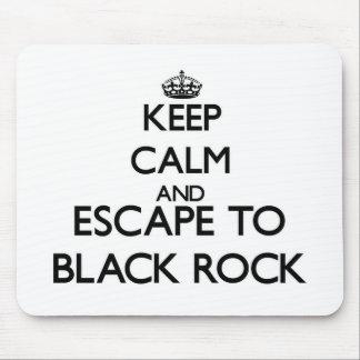 Keep calm and escape to Black Rock Massachusetts Mousepad