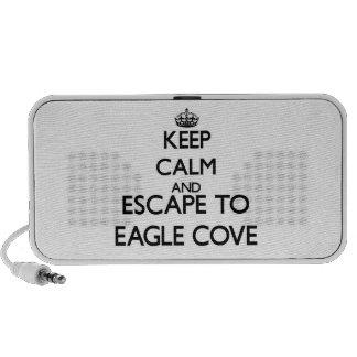 Keep calm and escape to Eagle Cove Washington Speaker System