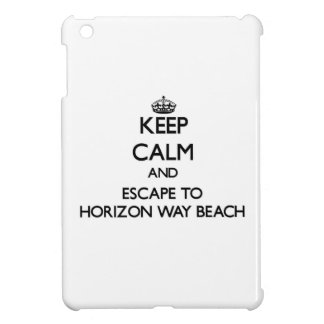 Keep calm and escape to Horizon Way Beach Florida iPad Mini Cover
