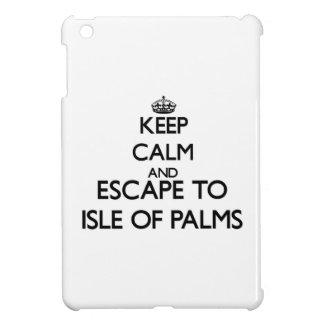 Keep calm and escape to Isle Of Palms South Caroli iPad Mini Case