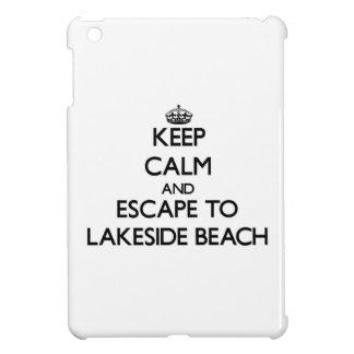 Keep calm and escape to Lakeside Beach Michigan iPad Mini Cover