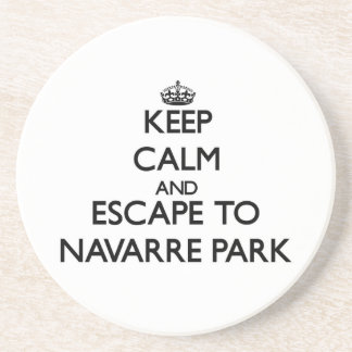 Keep calm and escape to Navarre Park Florida Coasters