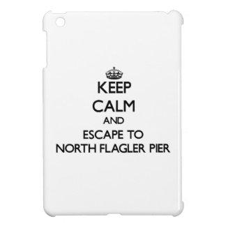 Keep calm and escape to North Flagler Pier Florida iPad Mini Covers