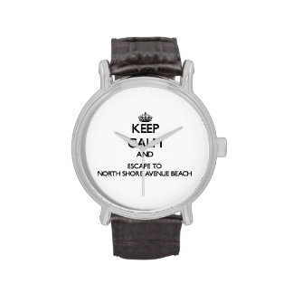 Keep calm and escape to North Shore Avenue Beach I Wristwatches