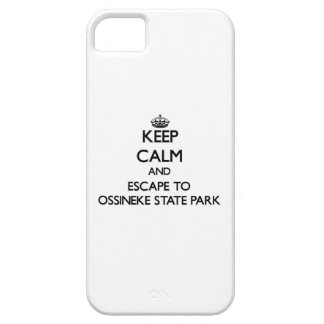 Keep calm and escape to Ossineke State Park Michig iPhone 5 Covers