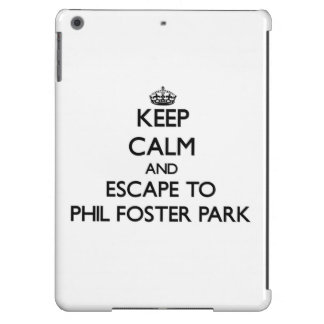 Keep calm and escape to Phil Foster Park Florida iPad Air Cases