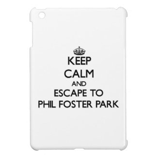 Keep calm and escape to Phil Foster Park Florida Cover For The iPad Mini