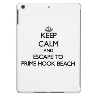 Keep calm and escape to Prime Hook Beach Delaware iPad Air Cases