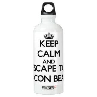 Keep calm and escape to Rincon Beach California SIGG Traveler 0.6L Water Bottle