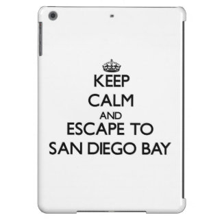 Keep calm and escape to San Diego Bay California Cover For iPad Air