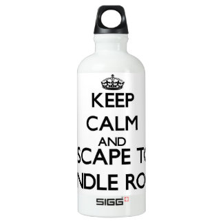 Keep calm and escape to Spindle Rock Massachusetts SIGG Traveler 0.6L Water Bottle