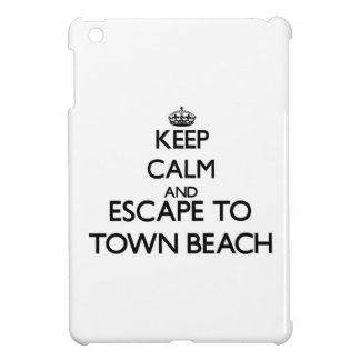 Keep calm and escape to Town Beach Connecticut Case For The iPad Mini