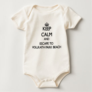 Keep calm and escape to Vollrath Park Beach Wiscon Rompers