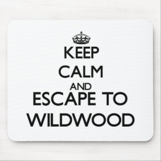 Keep calm and escape to Wildwood New Jersey Mouse Pad