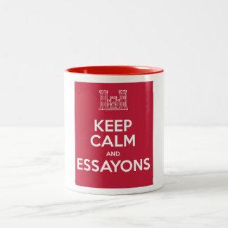 Keep Calm and Essayons Coffee Mug