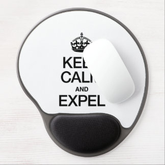 KEEP CALM AND EXPEL GEL MOUSEPAD