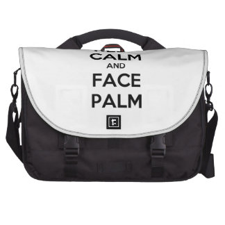 Keep Calm and Face Palm Commuter Bag