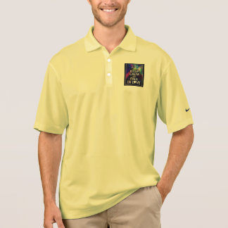 KEEP CALM AND FALL IN LOVE - MEN'S GOLF POLO