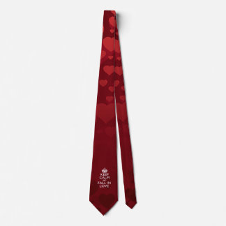 Keep Calm And Fall in Love Neck Tie