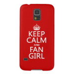 Keep Calm and Fan Girl (in all colors) Samsung Galaxy Nexus Case