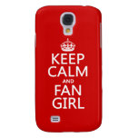 Keep Calm and Fan Girl (in all colors) HTC Vivid Cover