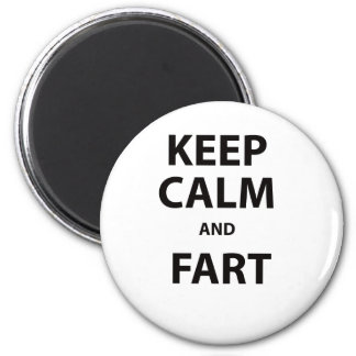 Keep Calm and Fart Magnet