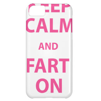 Keep Calm and Fart On Cover For iPhone 5C