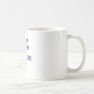 Keep Calm and Fartlek Coffee Mug