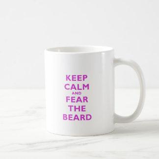 Keep Calm and Fear the Beard Coffee Mug