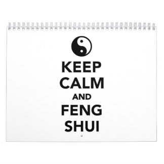 Keep calm and Feng shui Calendar