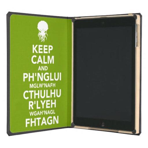 Keep Calm and Fhtagn iPad Air Case